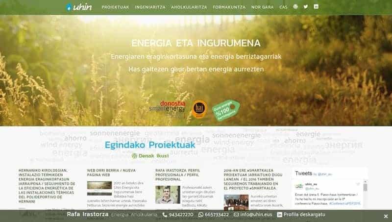 Uhin – Energía y medio ambiente